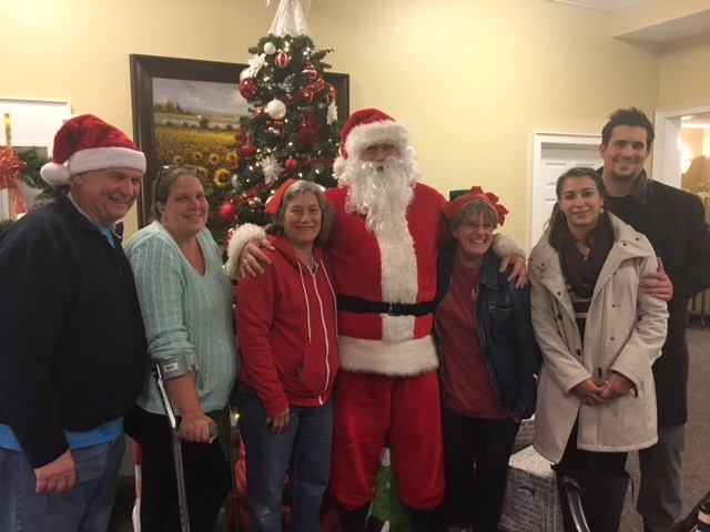 VFW Brings the Gift of Warmth & Love to Patients and Staff