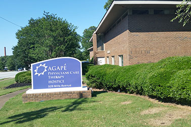 agape hospice in greenville